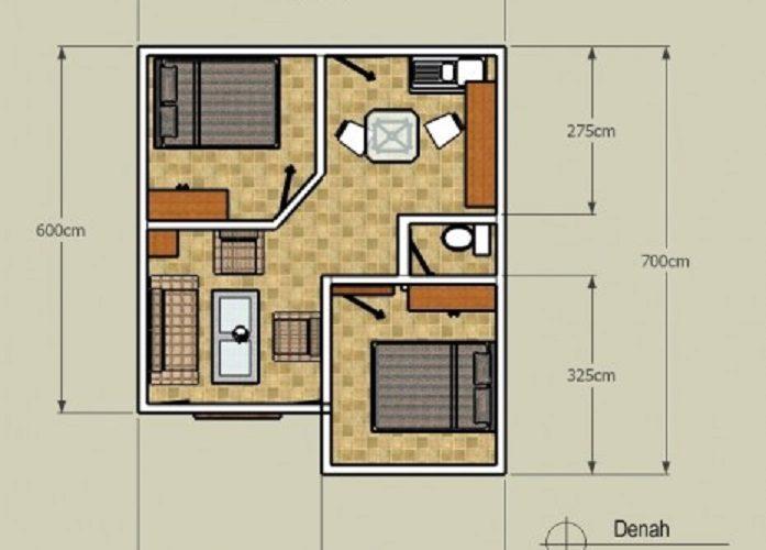 3 Keunggulan Denah Rumah Minimalis Type 36