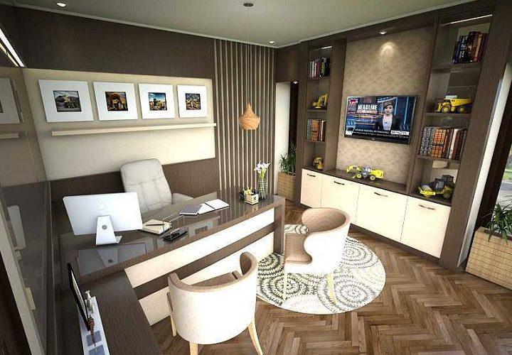 Membuat Konsep dan Desain Rumah Sekaligus Tempat Kerja
