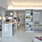desain apartemen minimalis modern
